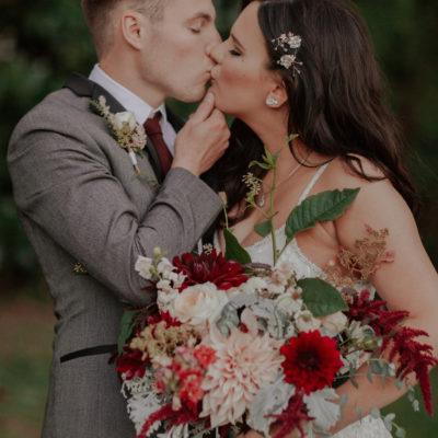 My Late September, Flower Garden Wedding!